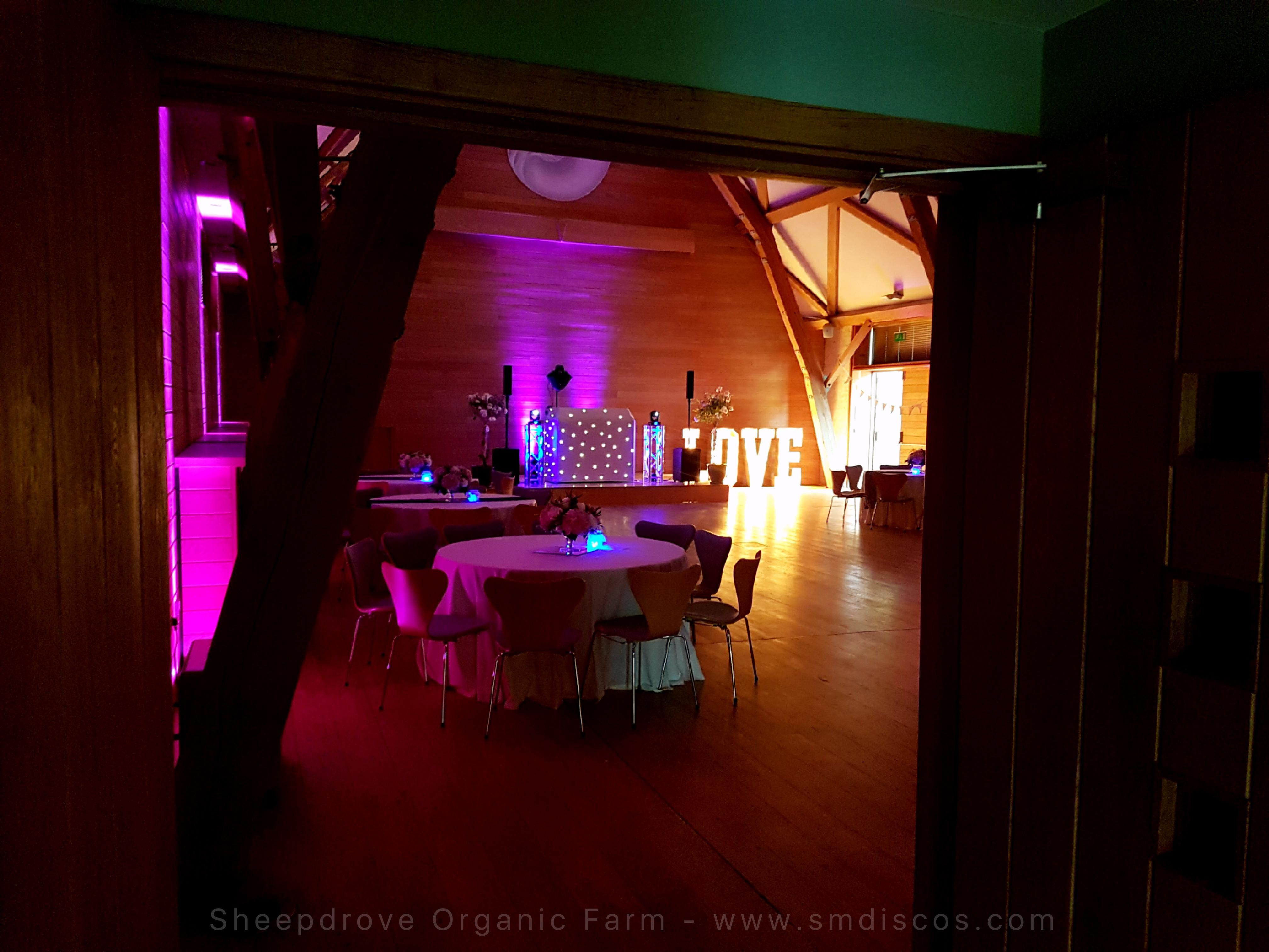 Events DJ Sheepdrove Organic Farm