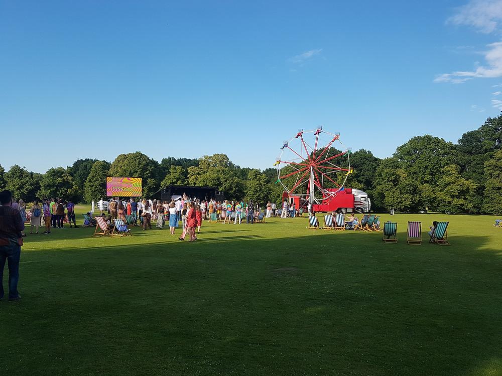 EF summer garden party