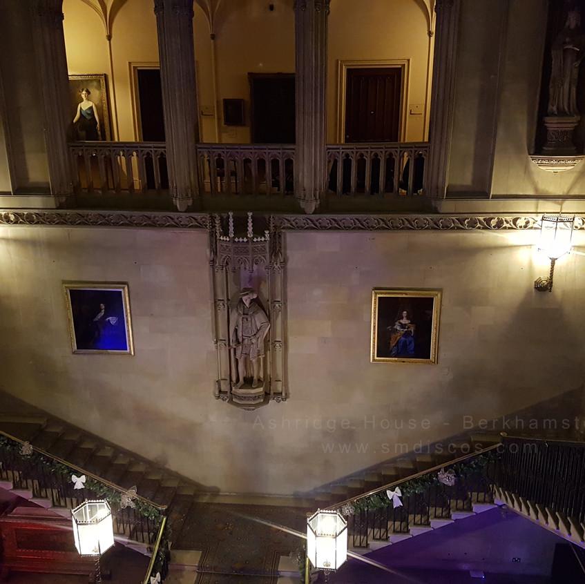 hall in ashridge house berkhamsted