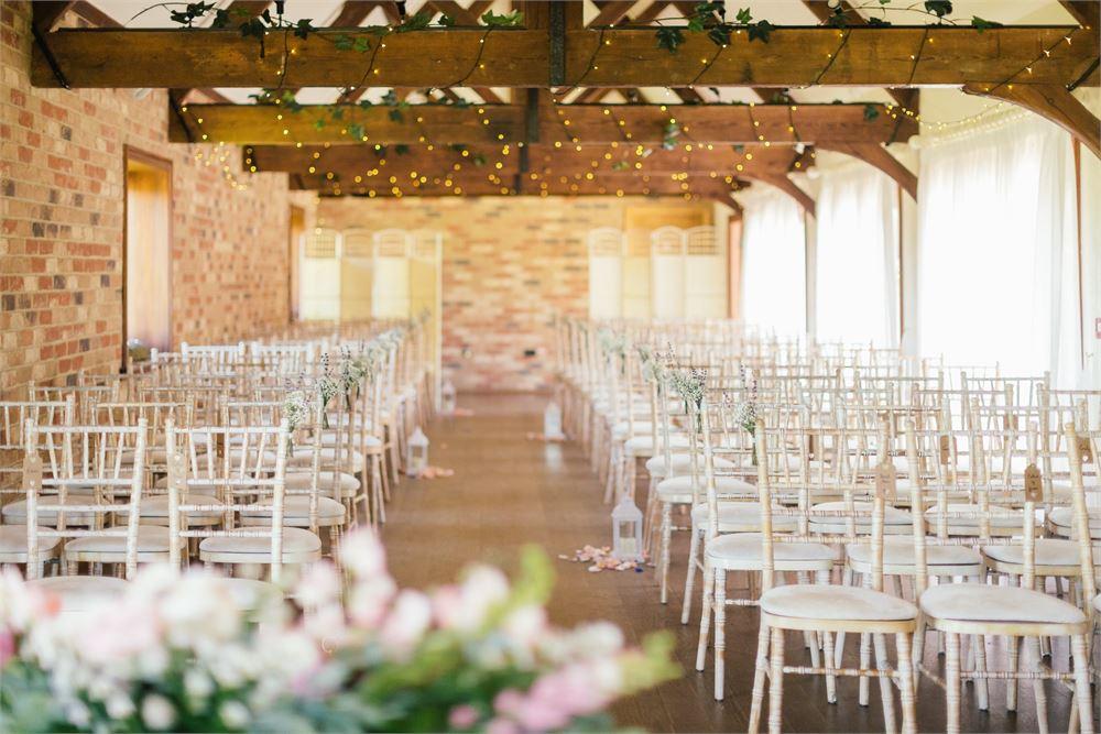 wedding at Long Furlong Barn