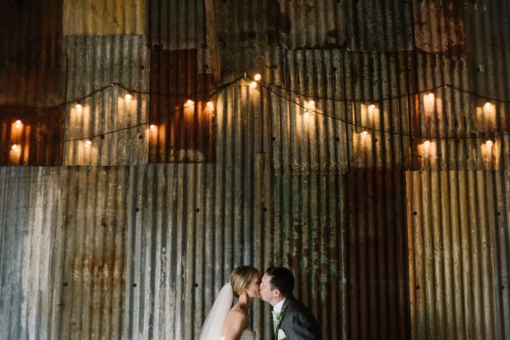 Rustic barn wedding Cornwall