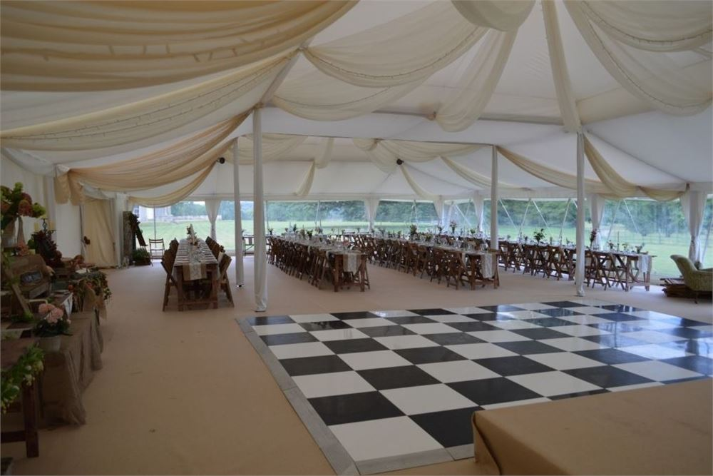 Marquee at Turvey House