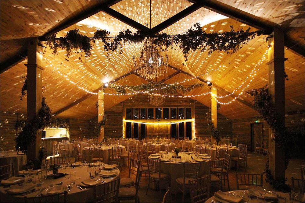 High Billinghurst Farm wedding disco