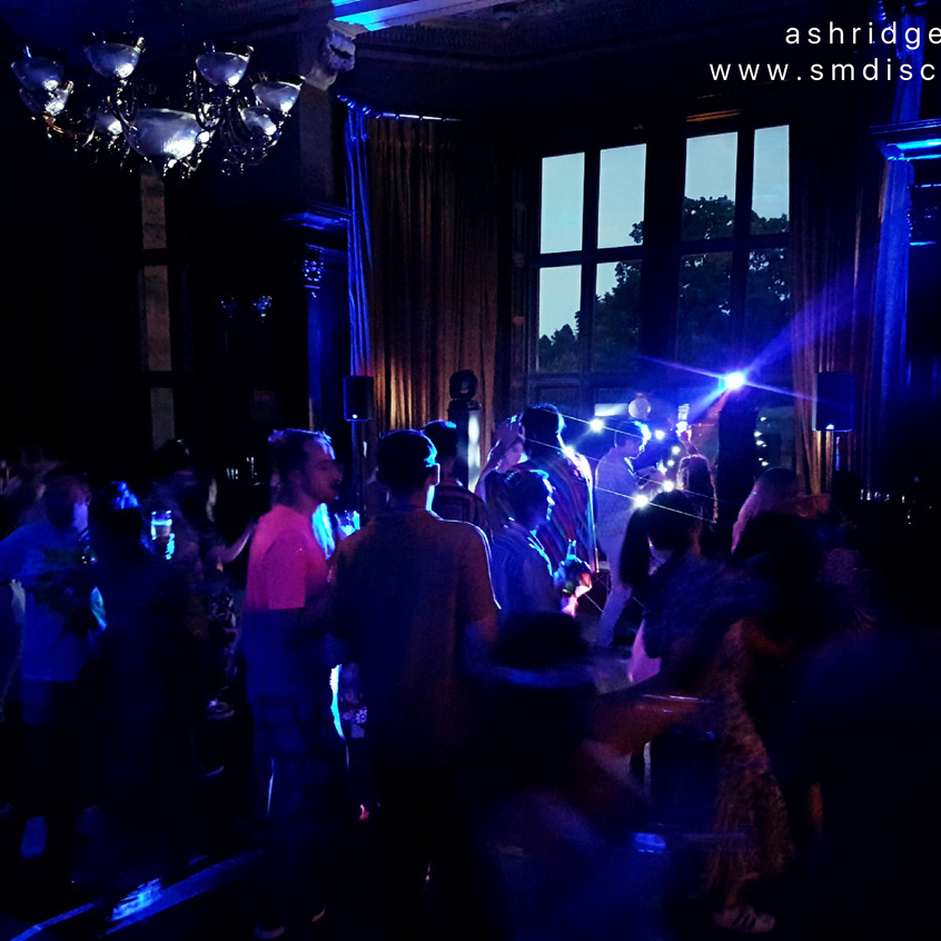 the dancefloor at ashridge house