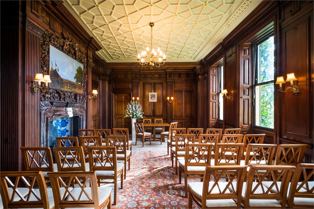 The Orangery at Goldney House Weddings
