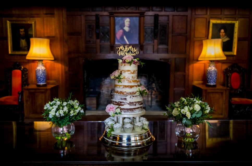 Hampden House wedding cake