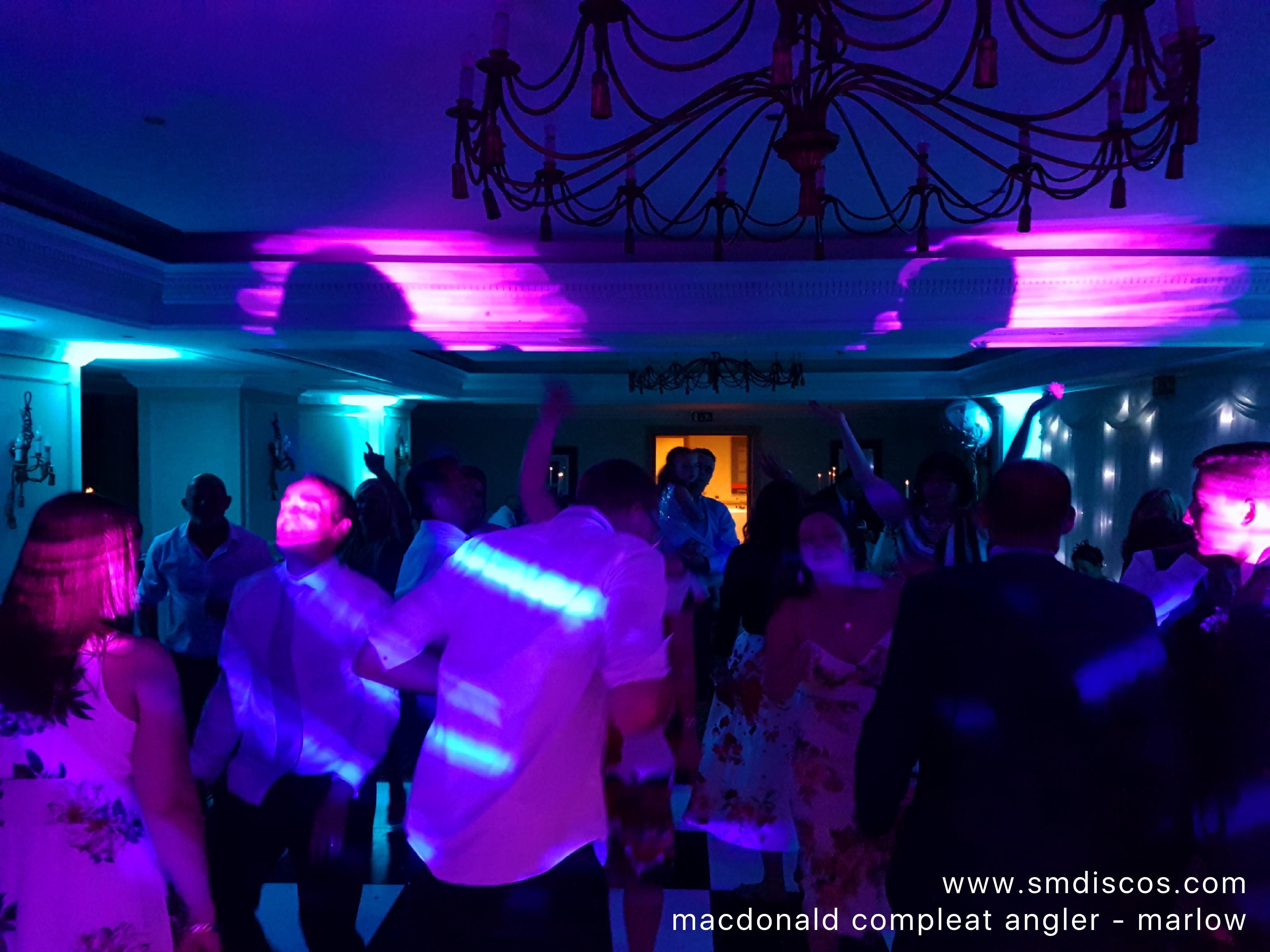 Compleat angler wedding dj disco