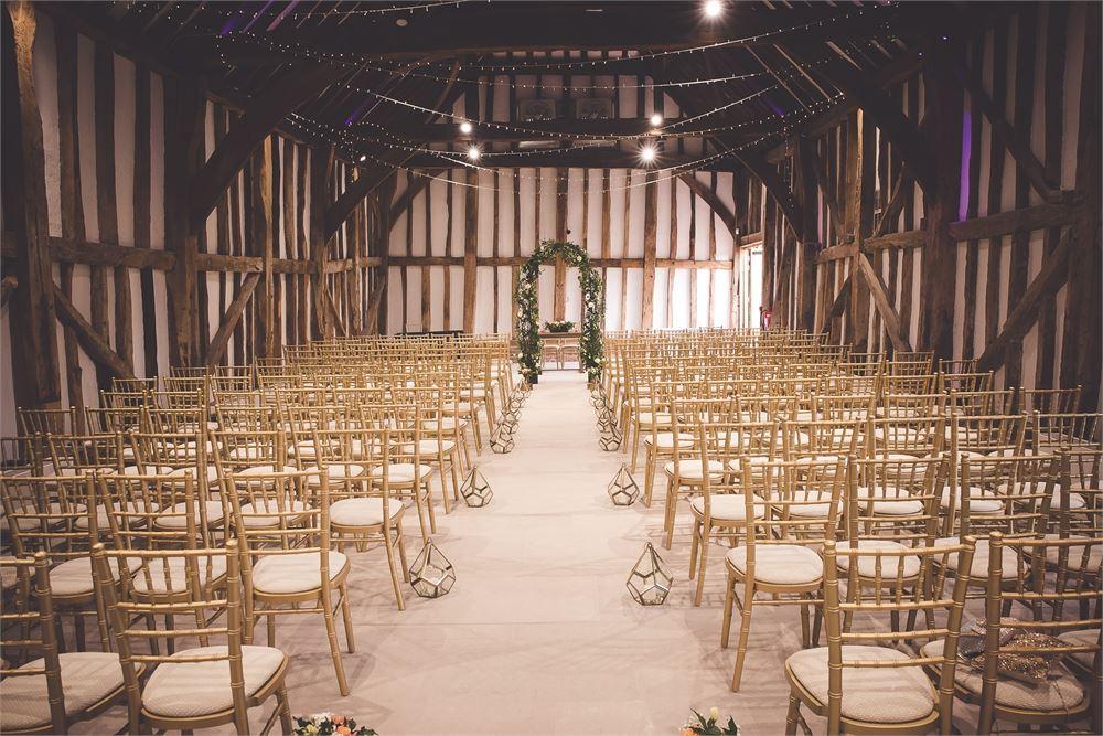 wedding disco The Great Barn at Headston