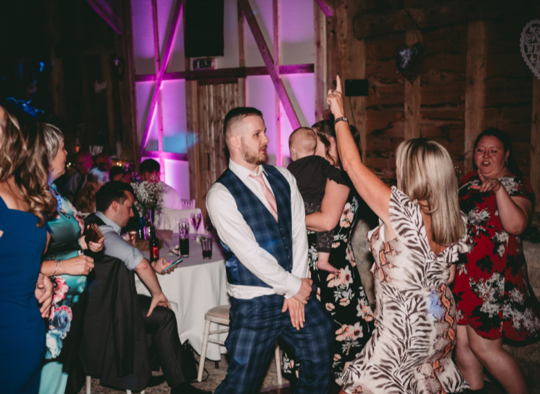 Manor Farm Barn Oxford Wedding DJ 13