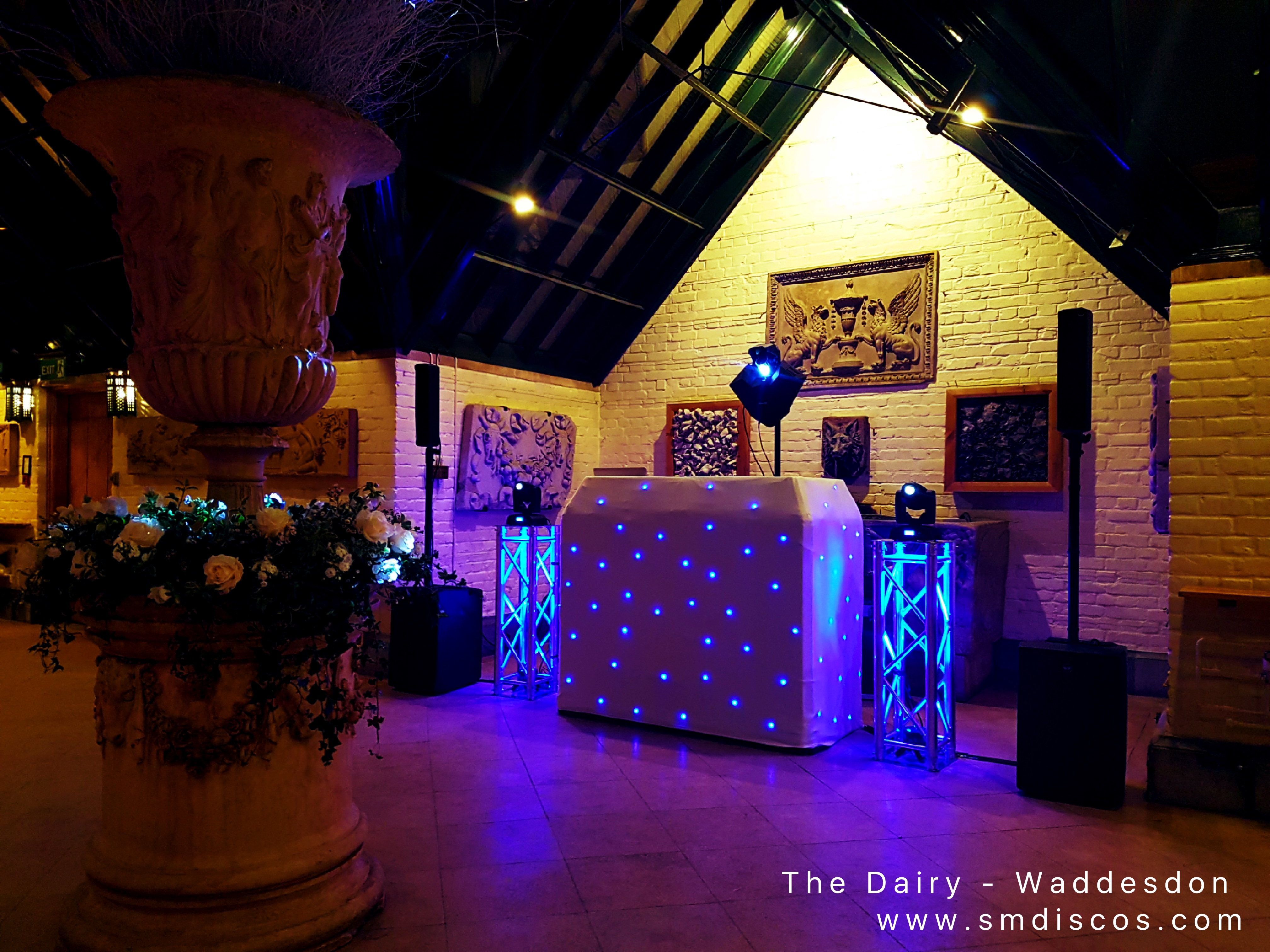 The Dairy - Waddesdon Wedding DJ