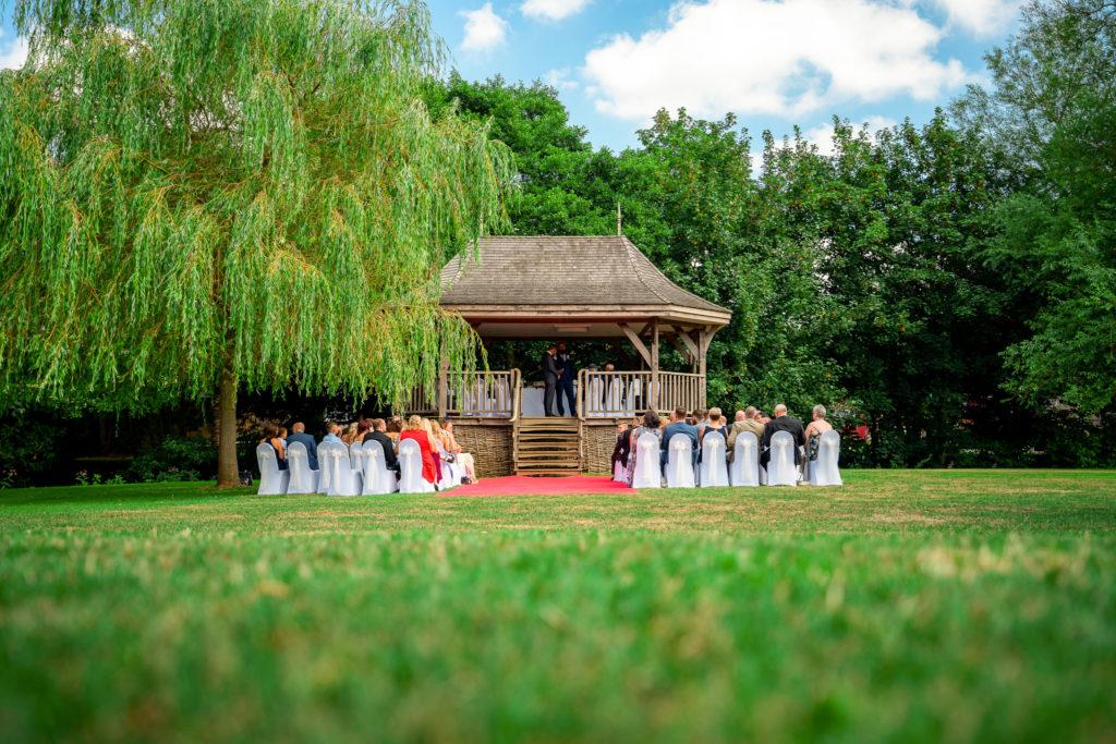 Wedding at Haselbury Mill