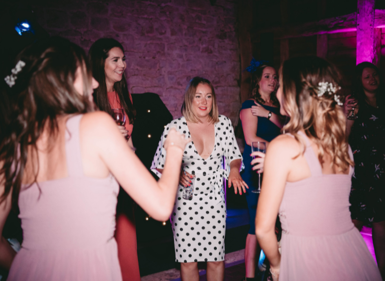Manor Farm Barn Oxford Wedding DJ 16