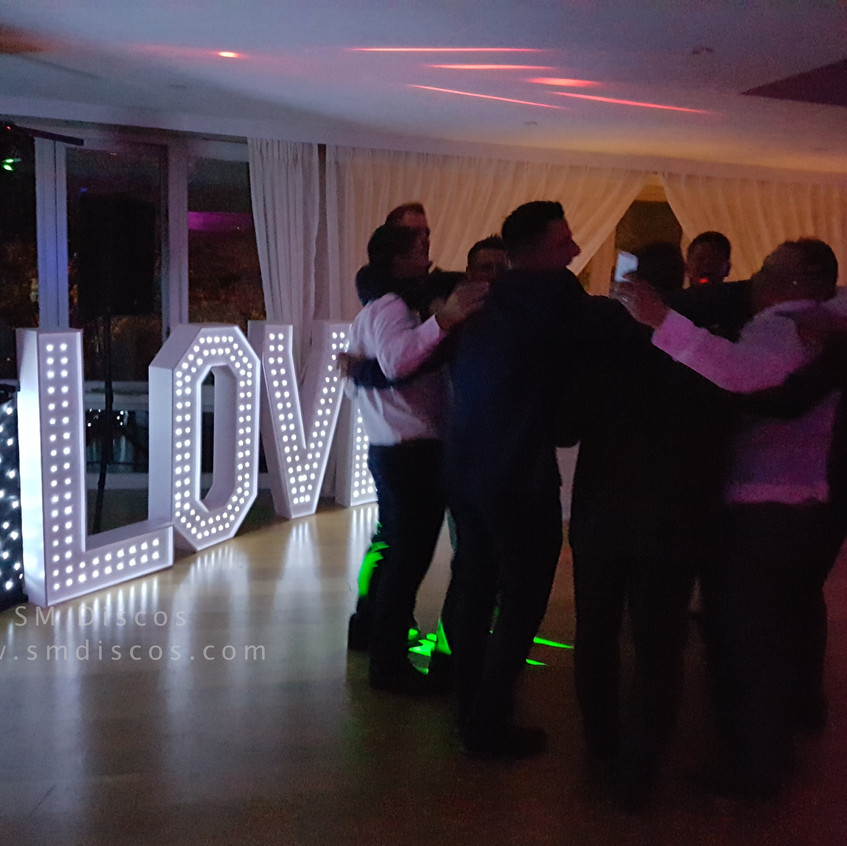 Westwood Hotel Oxford Wedding SM Discos