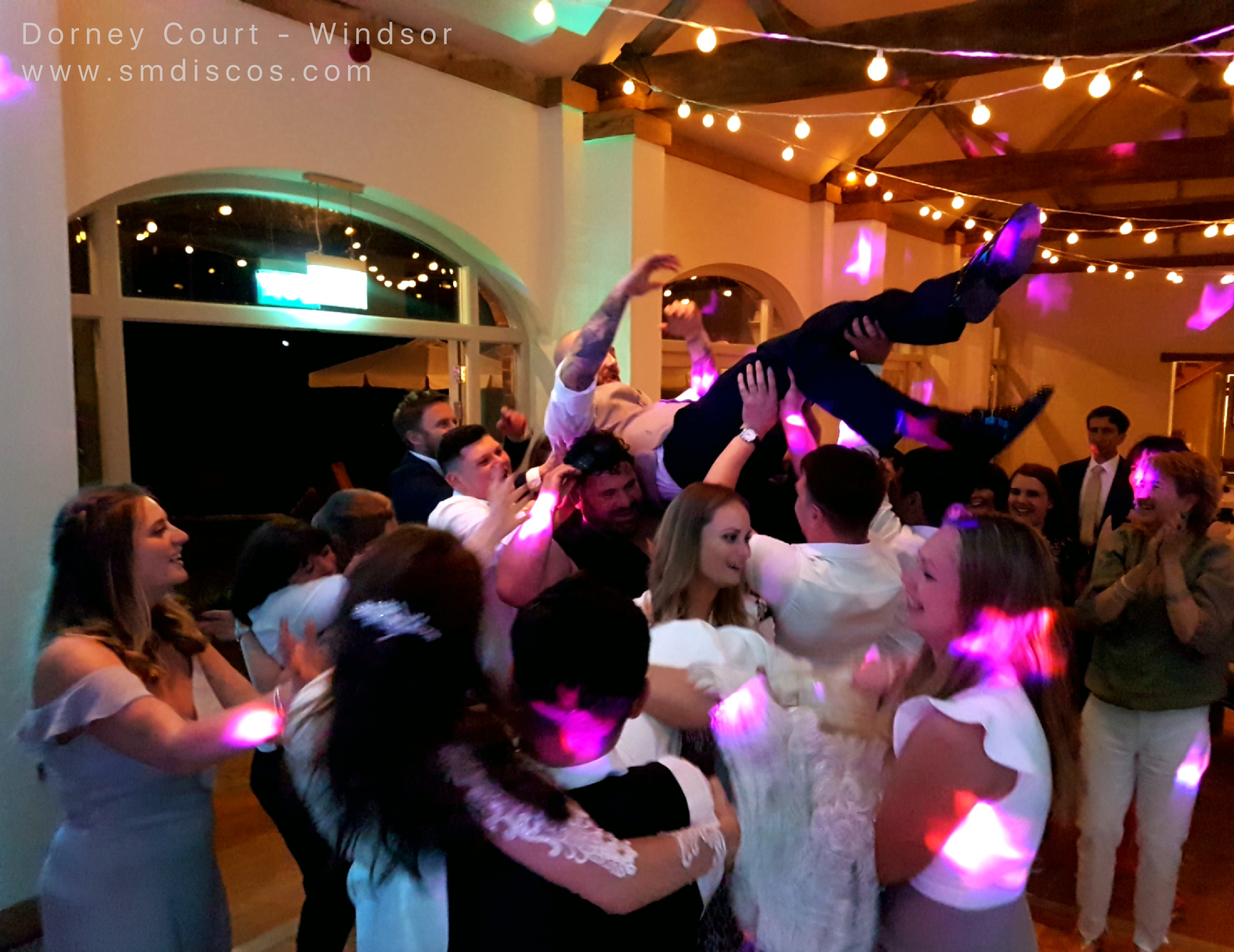 wedding disco Windsor