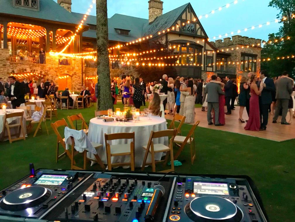 Oxford Garden Party DJ Hire