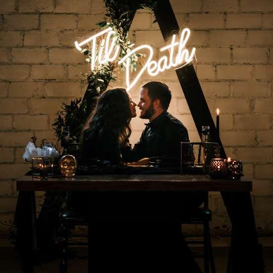 Til Death Wedding Sign