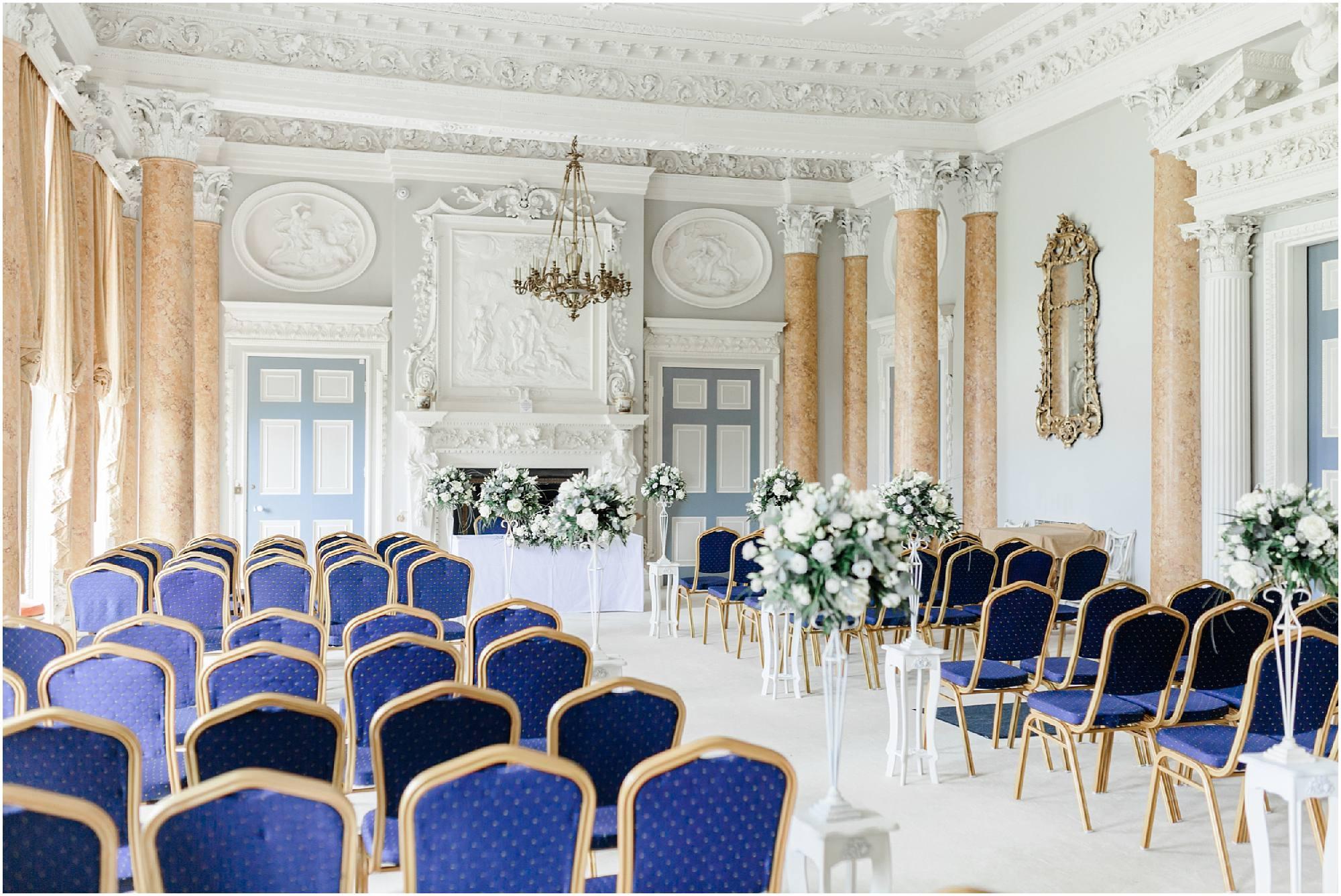 Stoneleigh Abbey Wedding Ceremony
