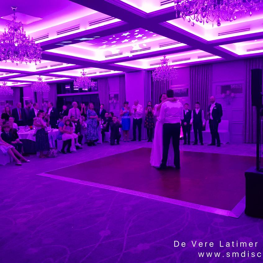 first dance de vere latimer estate