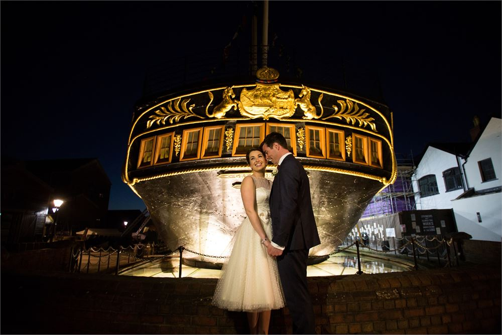 Bristol wedding Brunel's SS Great Britai
