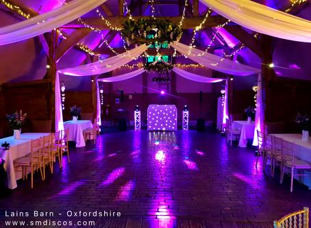 Wedding DJ Lains Barn - Annie & Andys Wedding