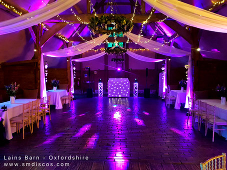 Wedding DJ Lains Barn - Annie & Andys Wedding