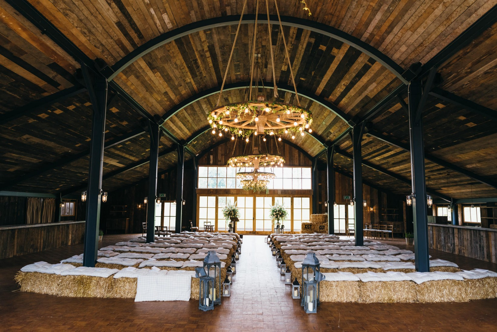 soho farmhouse wedding ceremony
