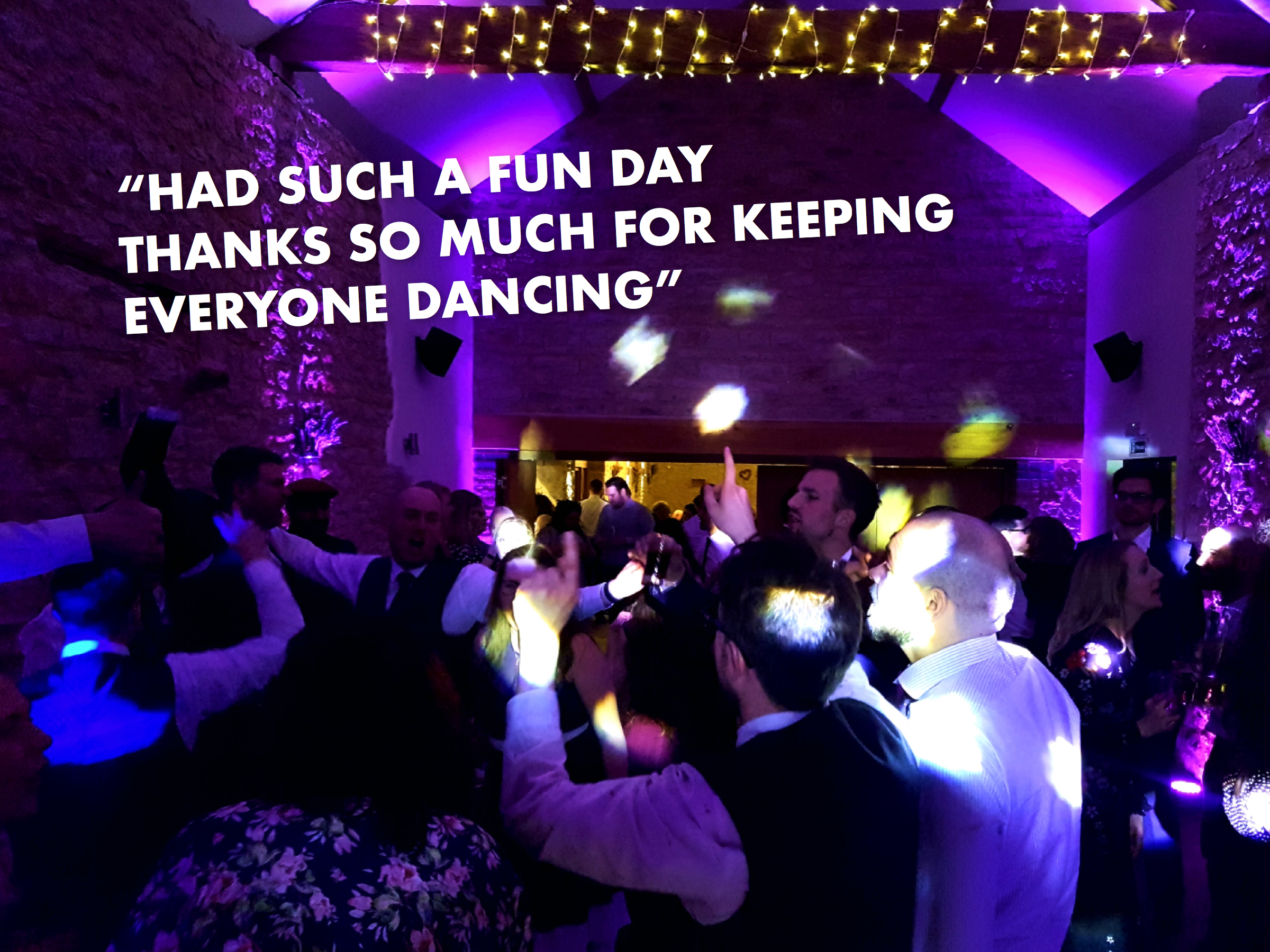 Buckingham wedding DJ
