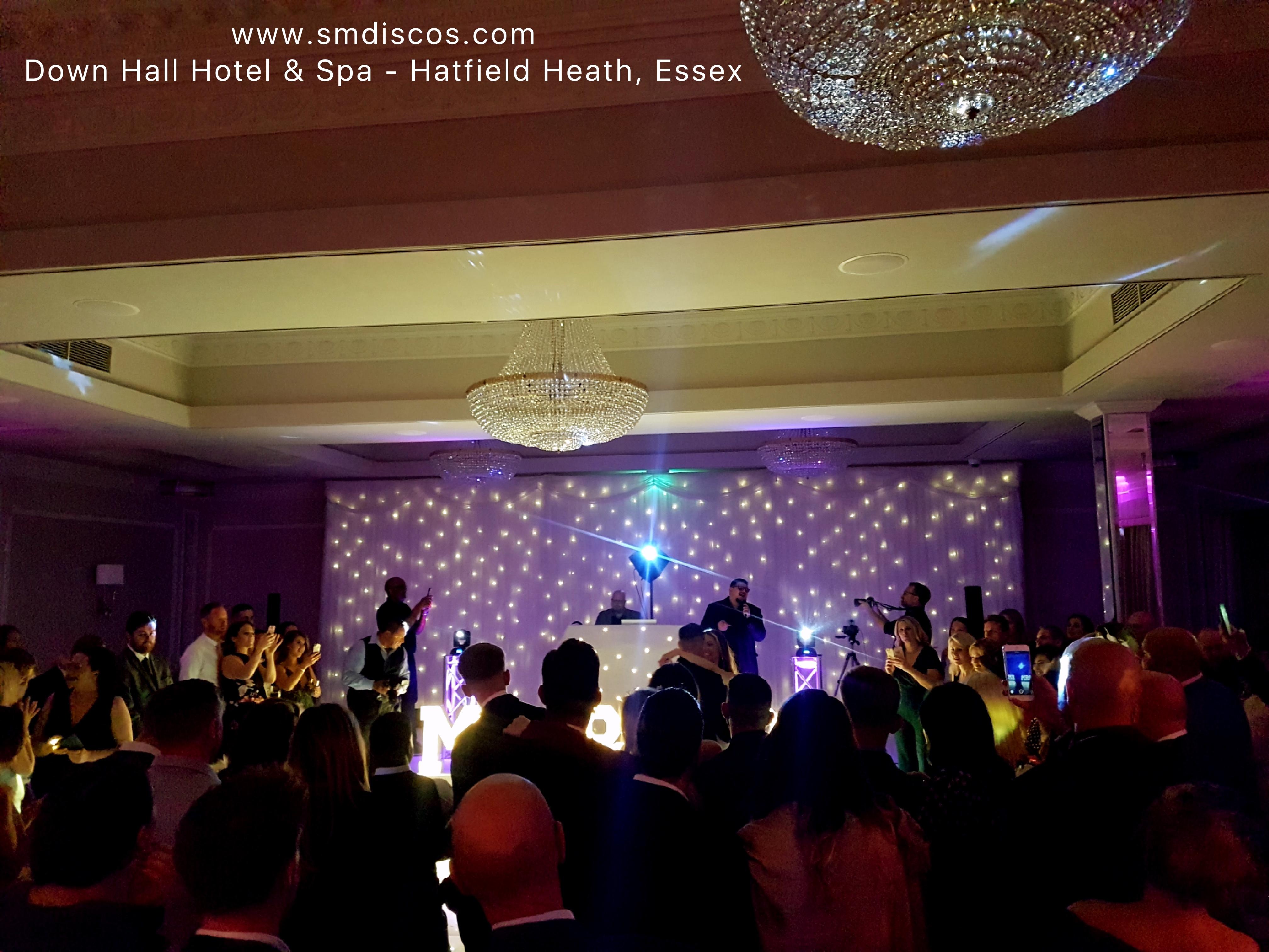 Down Hall Hotel & Spa Wedding DJ