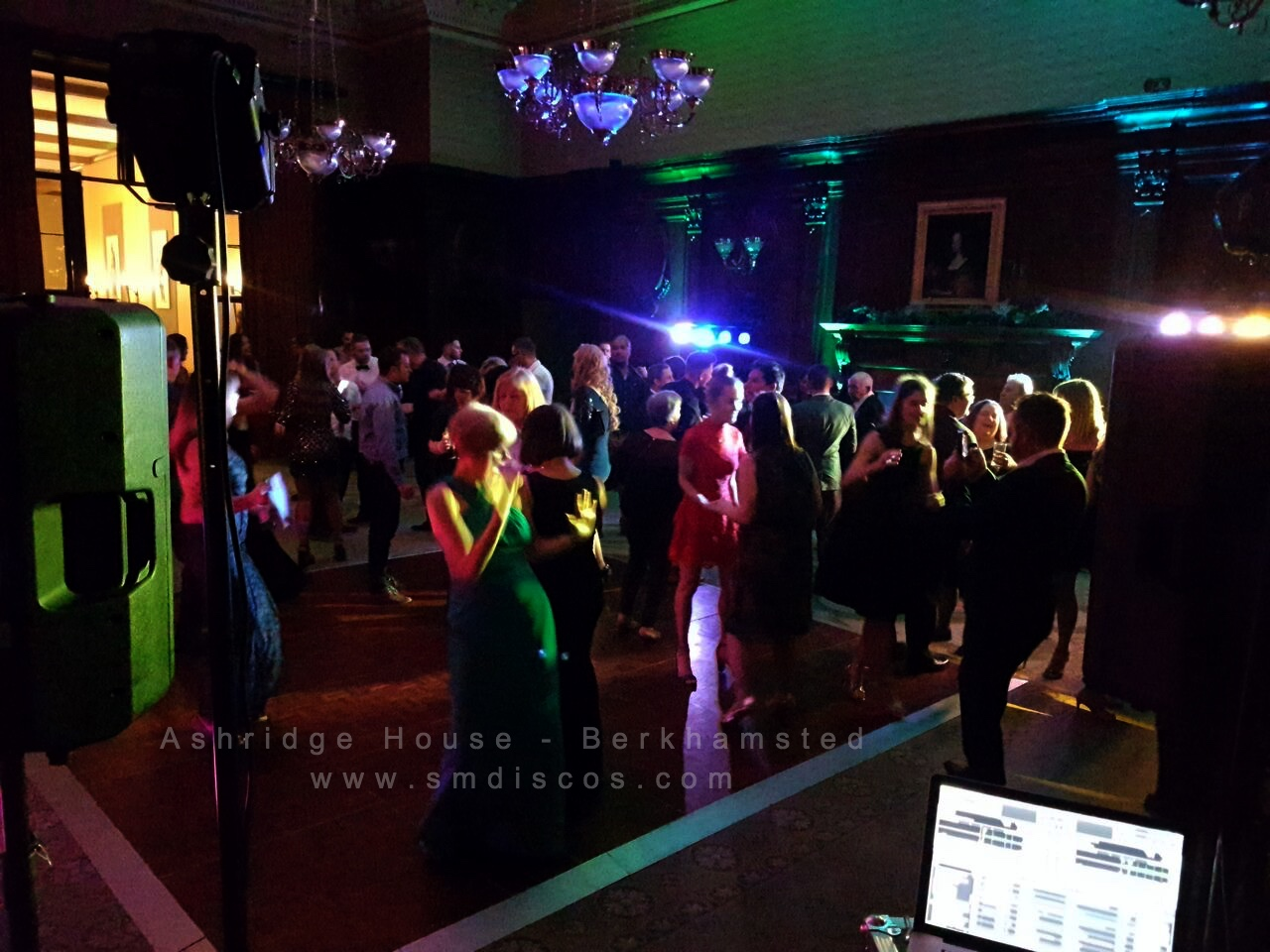 Ashridge House wedding event DJ