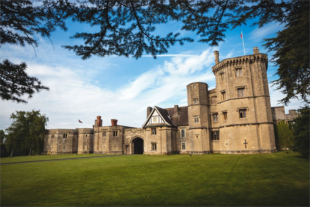 Thornbury Castle Gloucestershire djs