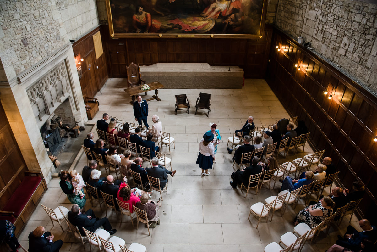 Wedding at Battle Abbey School
