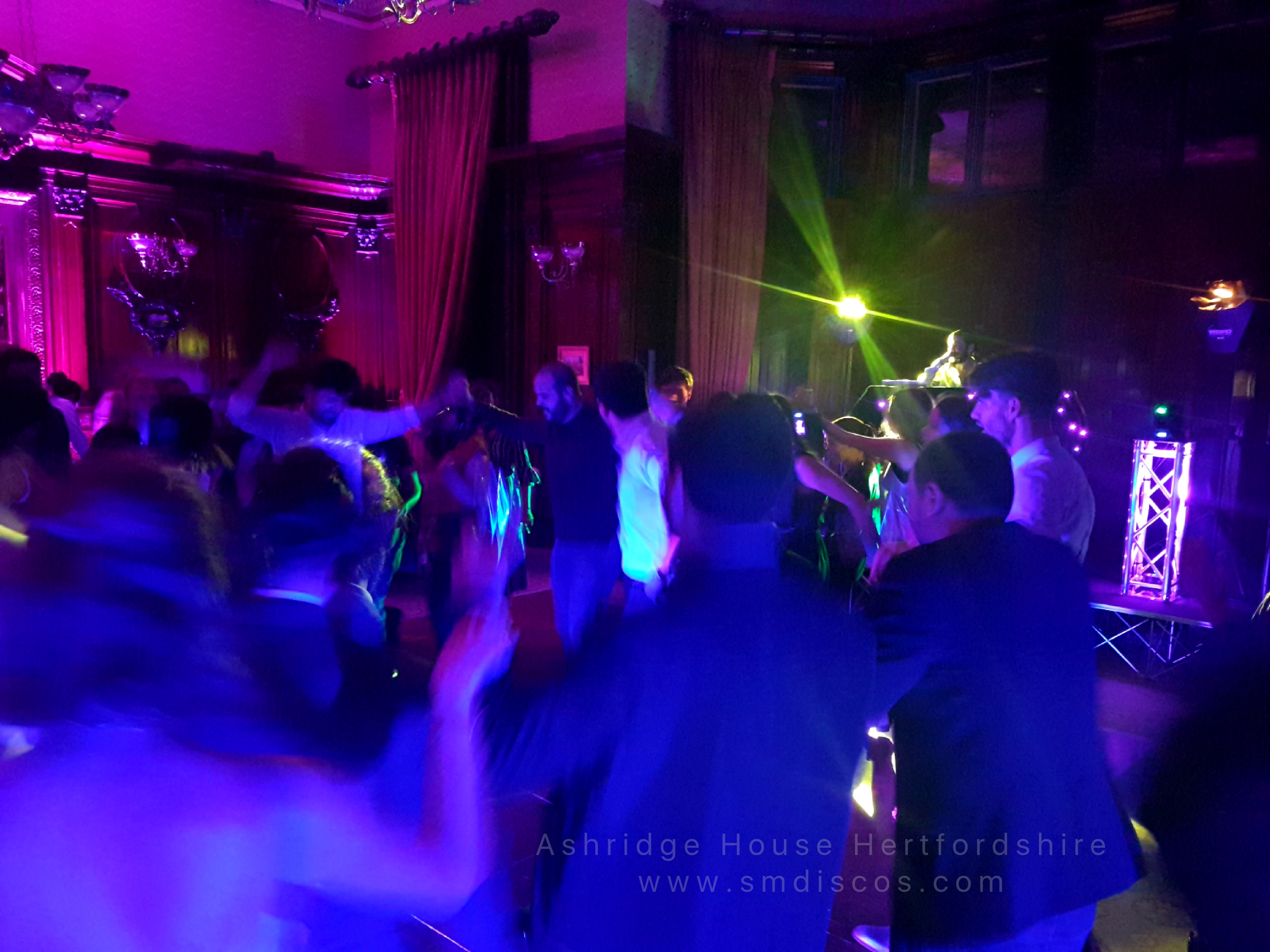 Disco hire Ashridge House Herts