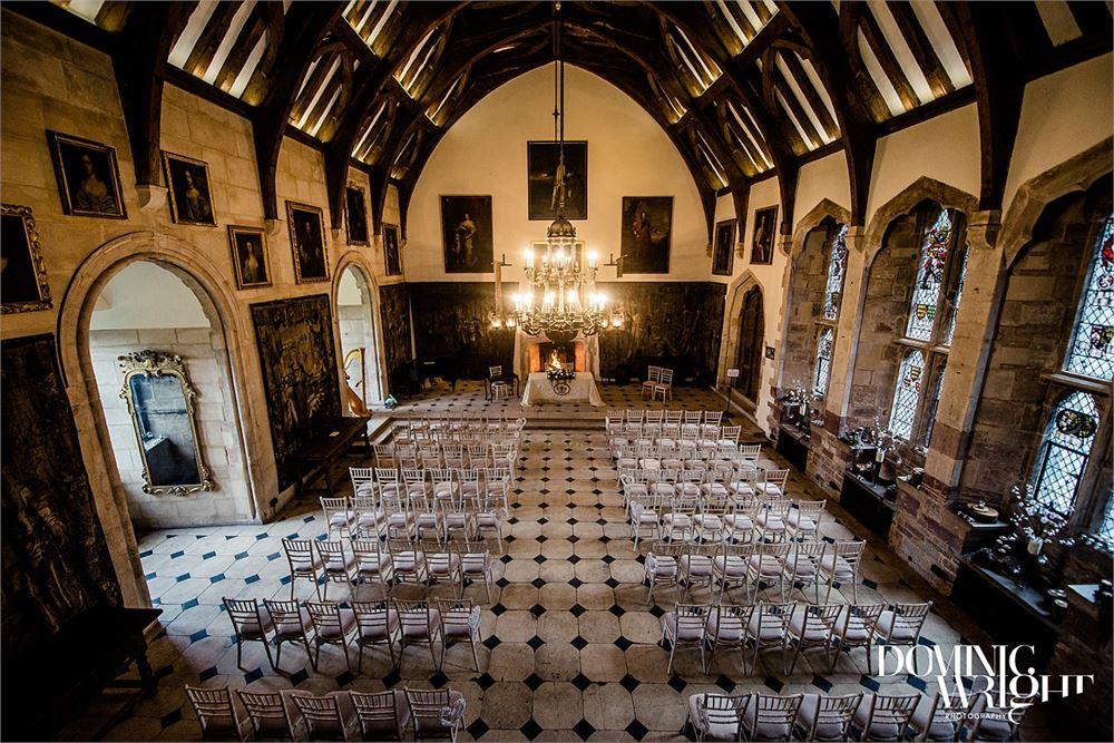 Berkeley Castle wedding in  Gloucestersh