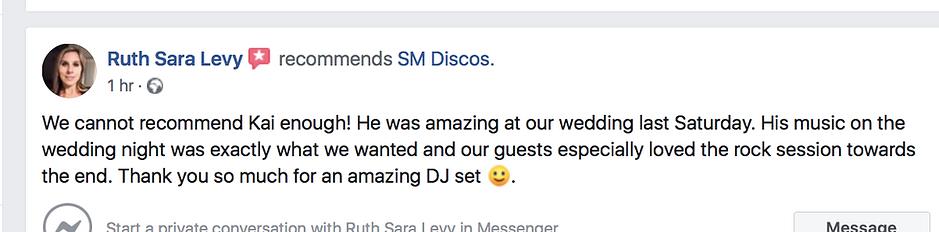Bisham Abbey DJ