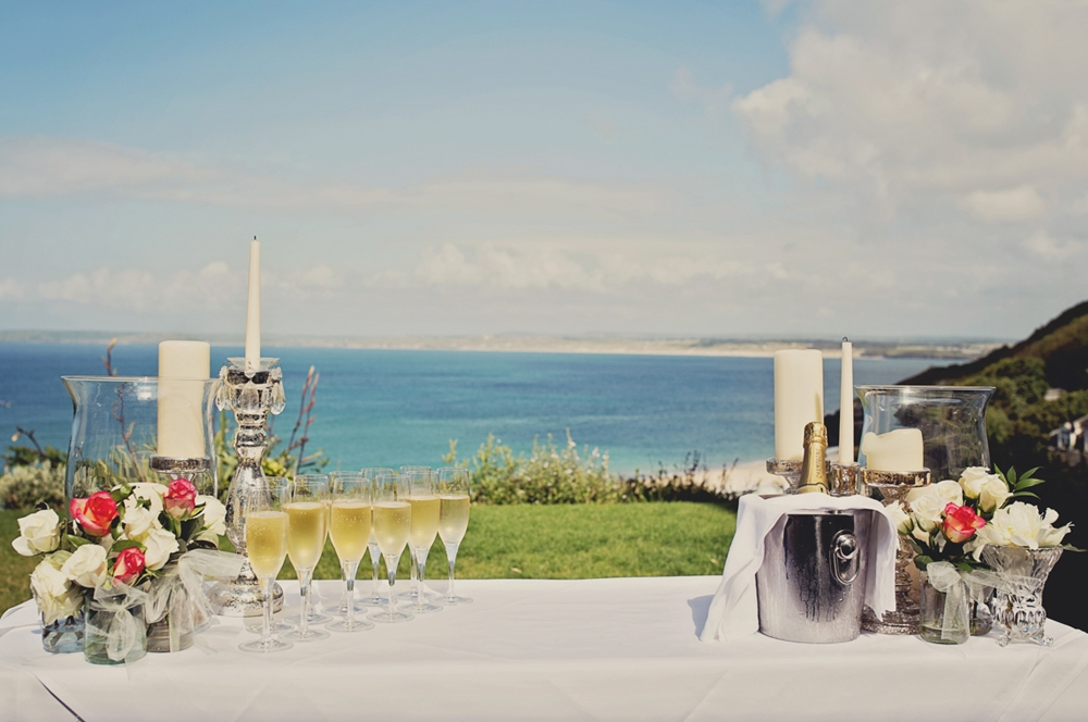 St Ives Harbour Hotel Cornwall Wedding