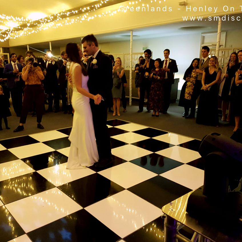 First dance Henley On Thames Wedding
