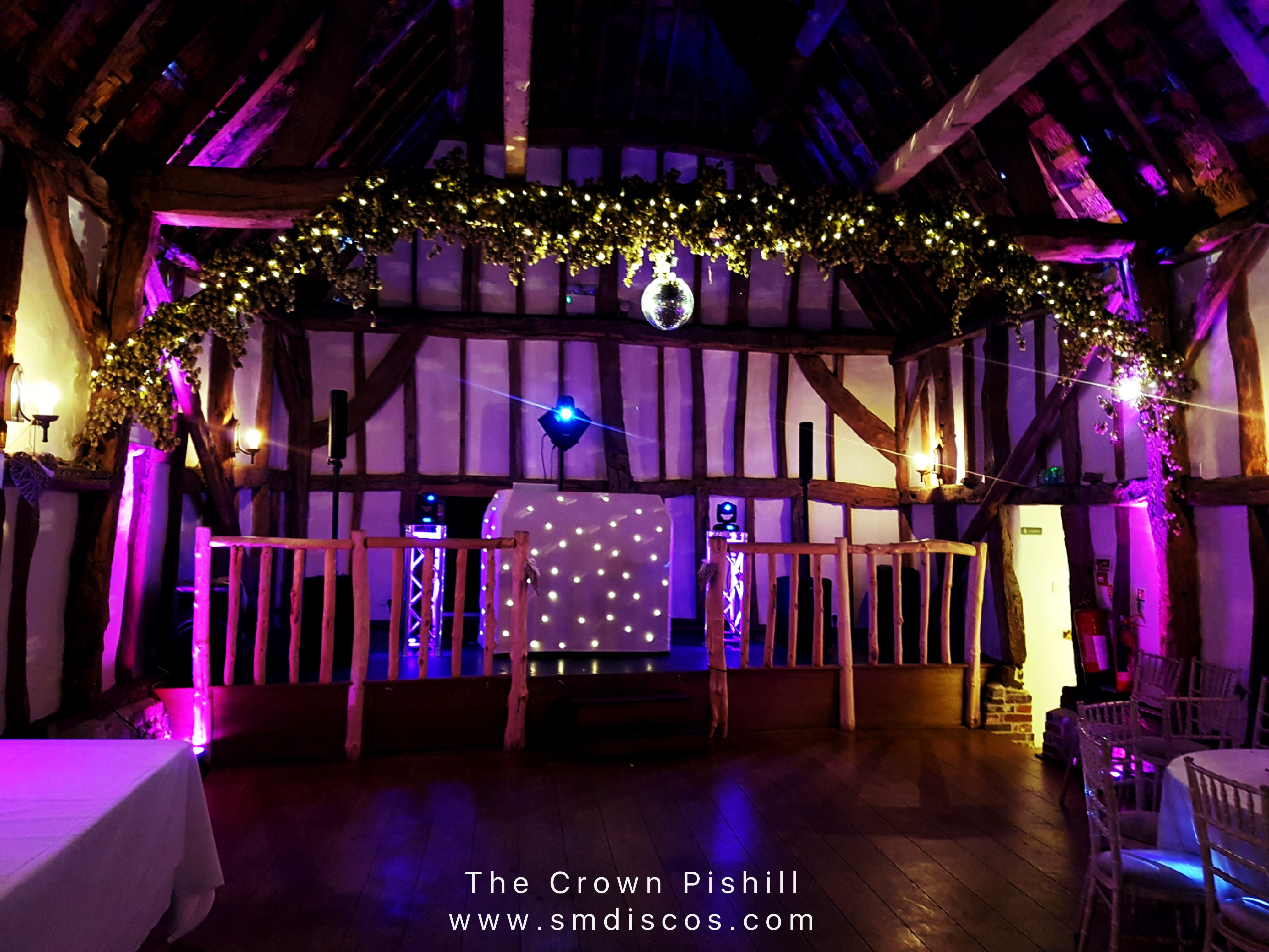 The Crown Pishill Wedding Disco