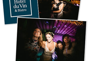 HOTEL DU VIN wedding discos