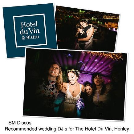 wedding event dj in henley