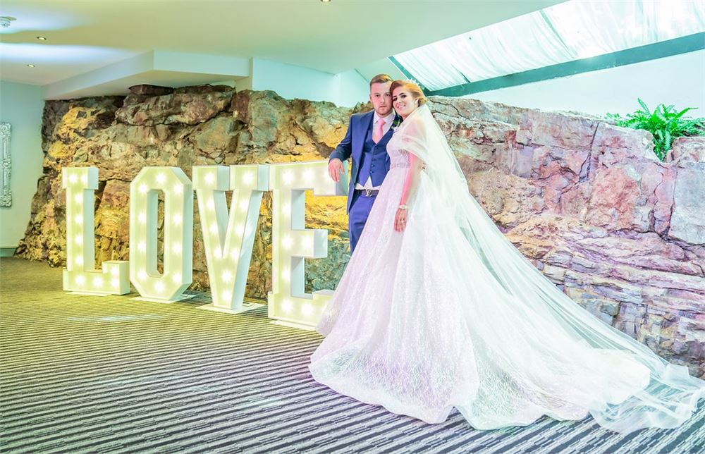 LIGHT UP LOVE LETTERS AT DoubleTree by H