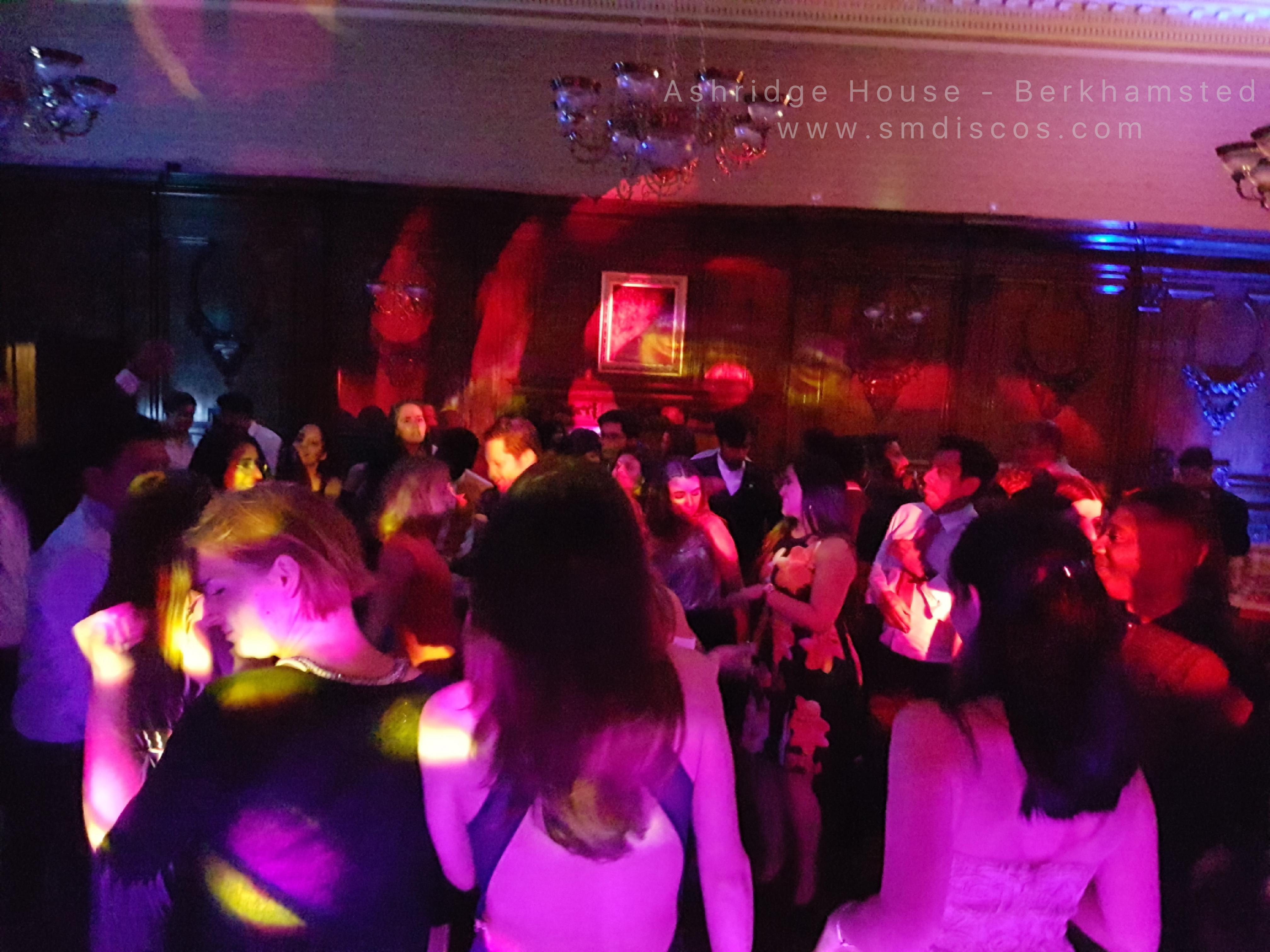 Ashridge House DJ Disco