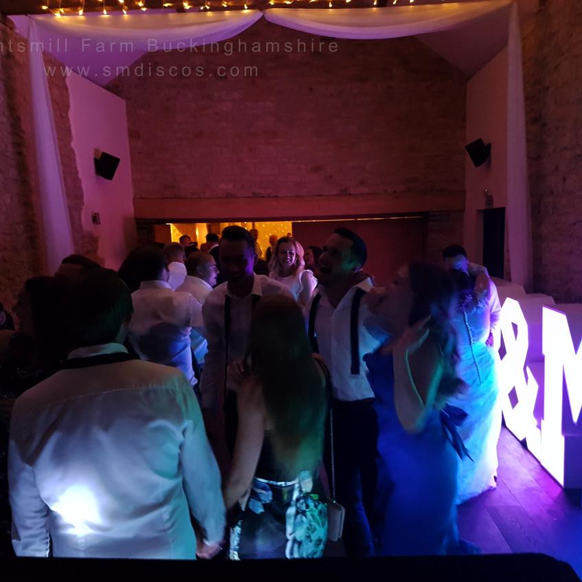 DJ Disco Wedding Buckingham