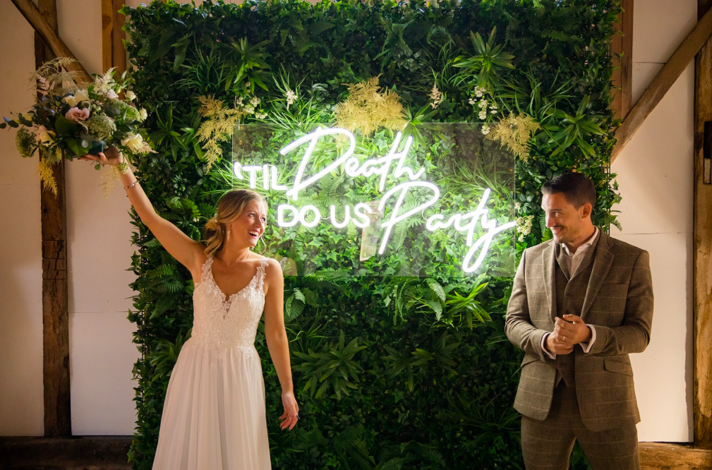 UK Neon wedding Sign Hire