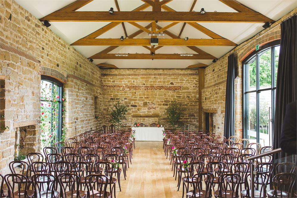 Hendall Manor Barns Sussex wedding venue