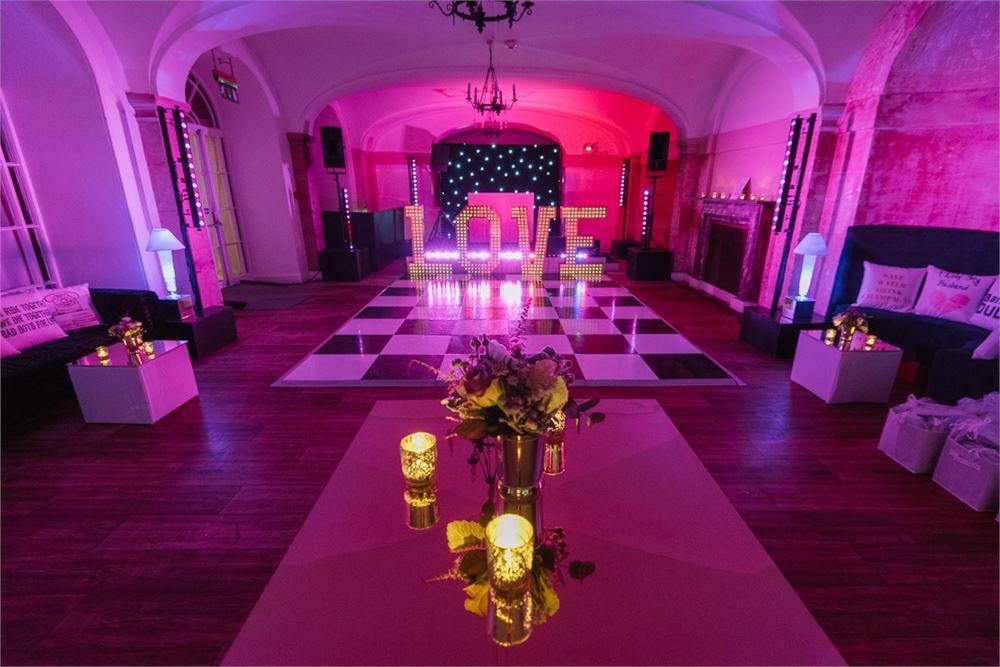 Blenheim Palace wedding disco