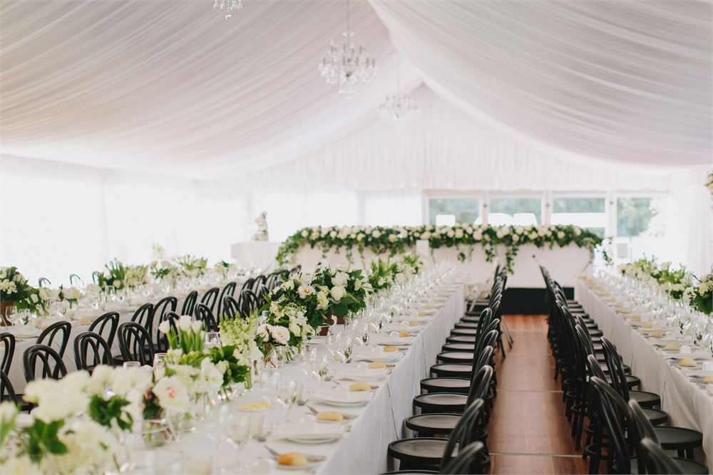 Ingleside House marquee wedding