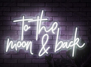 to the moon and back sign hire oxford.jp