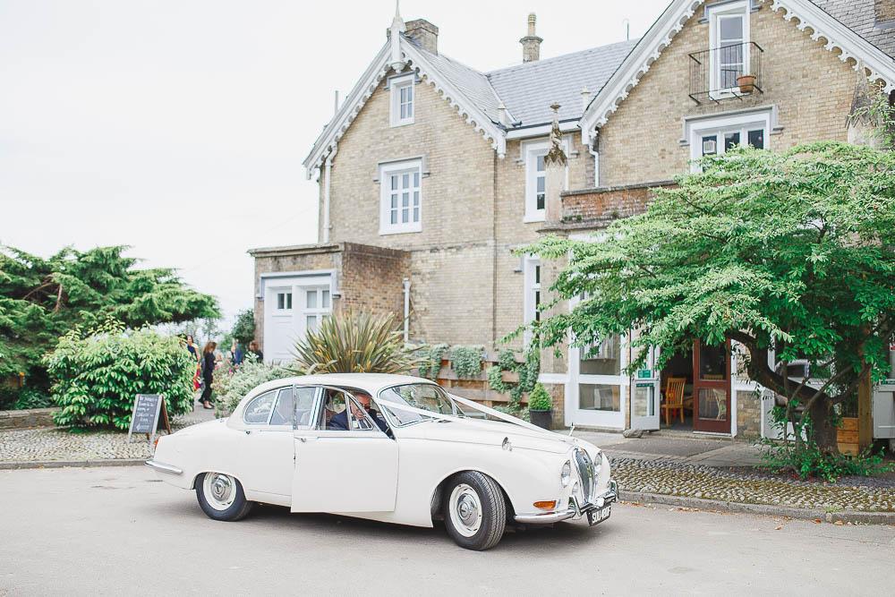 St Julians Club Wedding Car