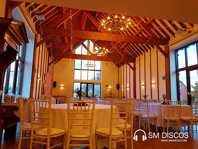 Wedding DJ for Winters Tale Country Barn