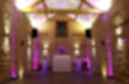 Our Wedding DJ Disco at Huntsmill Farm.j